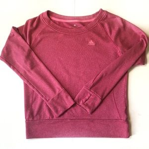 Adidas hot pink Climawarm sweatshirt, Small